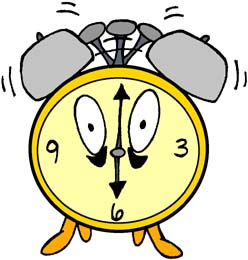 Horloge de la journée