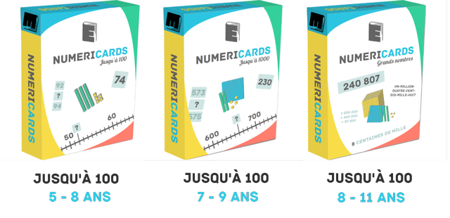 Numéricards : jeu de numération