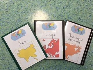 Projet monde dans ma classe