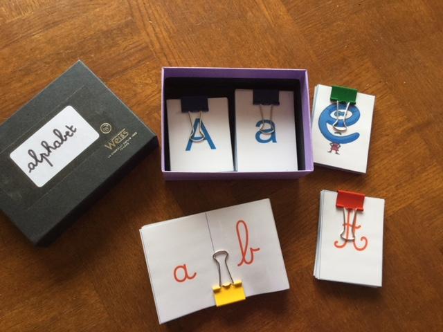 Les différentes écritures en maternelle