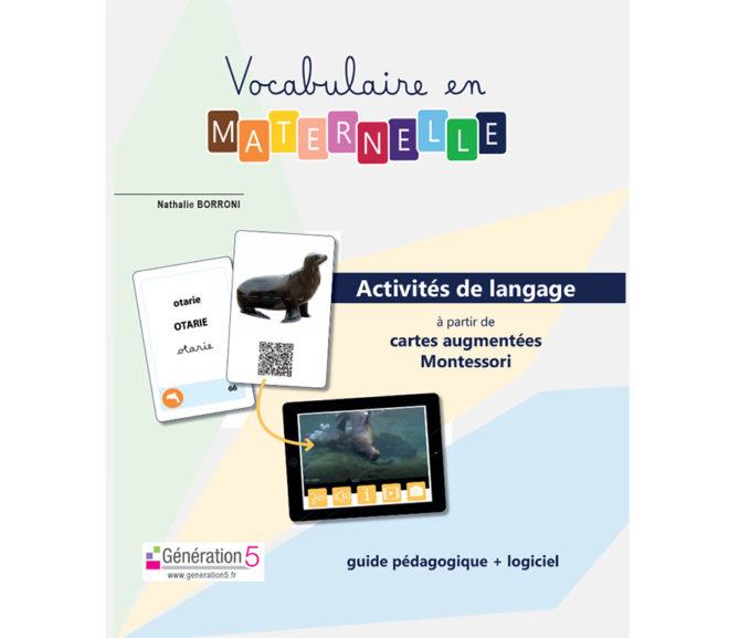 Nouveau projet éditorial : Vocabulaire en maternelle